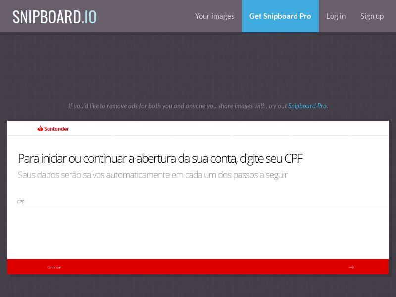 Finance - Banco Santander - Abertura de Contas (July New LP2) BR - SOI