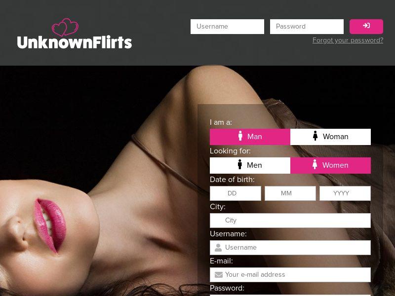 unknownflirts.com DOI (CA) web/tab