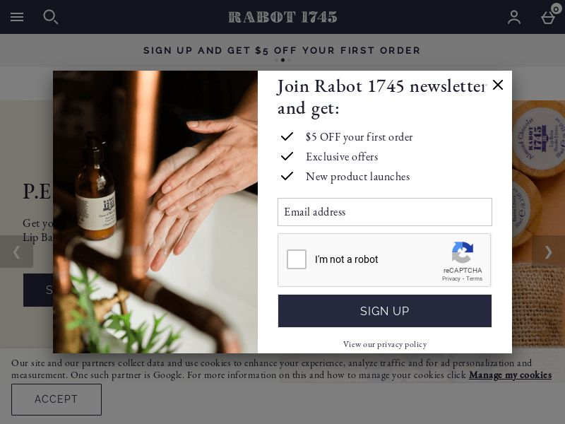 Rabot 1745 US
