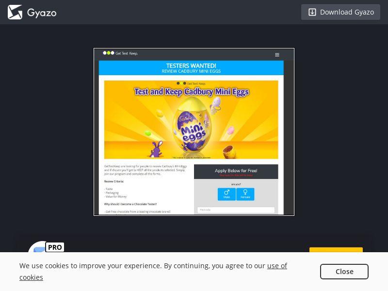 Win Cadbury Mini Eggs (NZ) (CPL)