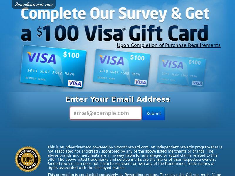 SmoothRewards_VISA Gift Card - US (CPL) SOI