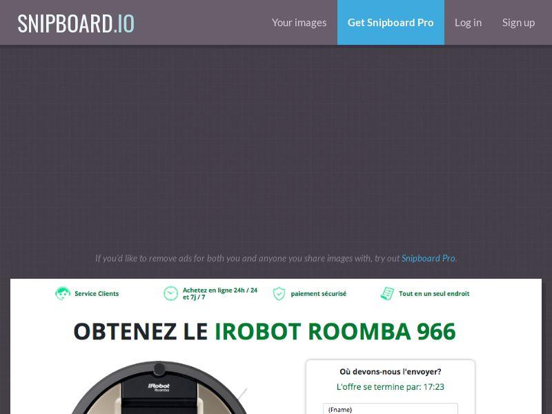 MyeBooky - iRobot LP58 FR - CC Submit