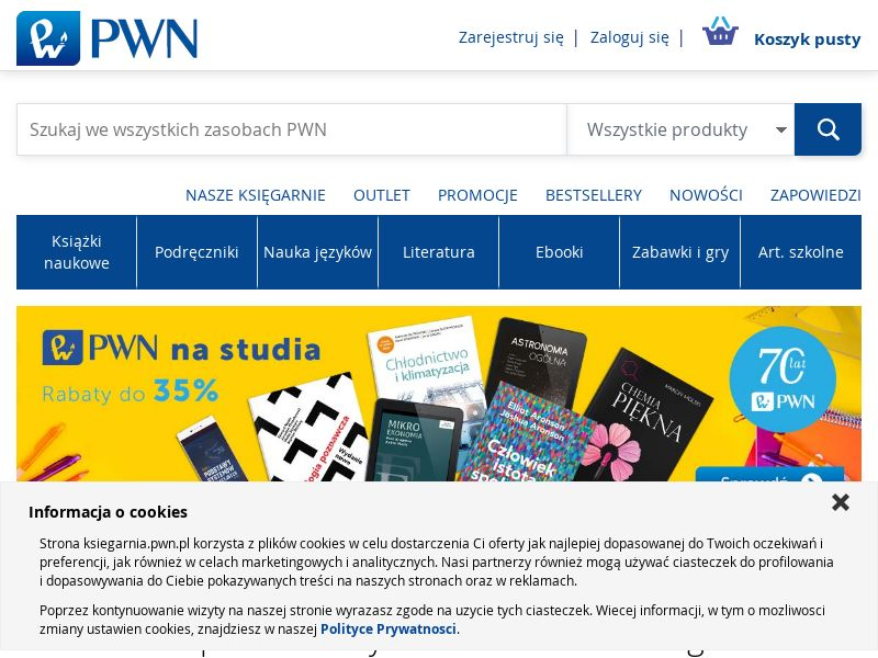 Księgarnia Internetowa PWN (PL), [CPS], Accessories and additions, Presents, Social Media, Sell, shop, gift