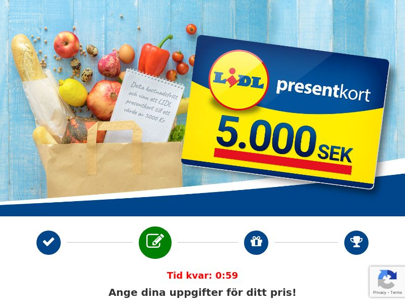 Sweepstakes CPL - Sweden