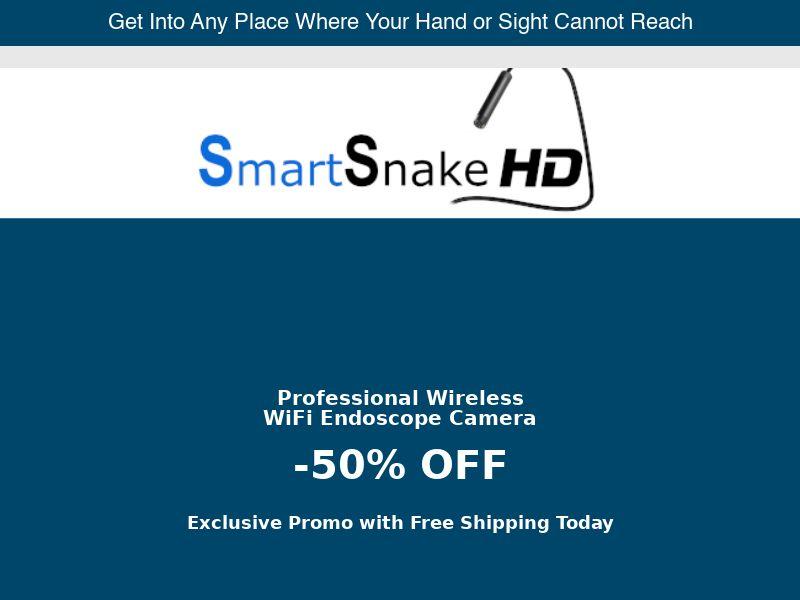 SmartSnake HD - Presell - 50% Off