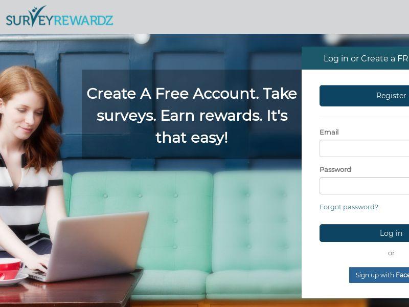 Survey Rewardz - INCENT - CA