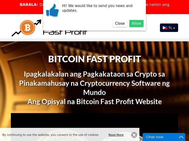 Bitcoin Fast Profits Filipino 3930
