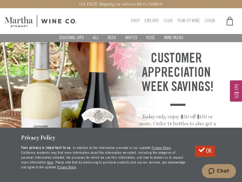 Martha Stewart Wine Co. US