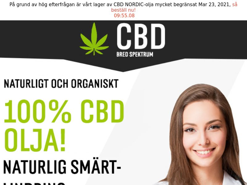CBD Oil [SE] (Email,Social,Banner,Native,Push,SEO,Search) - CPA
