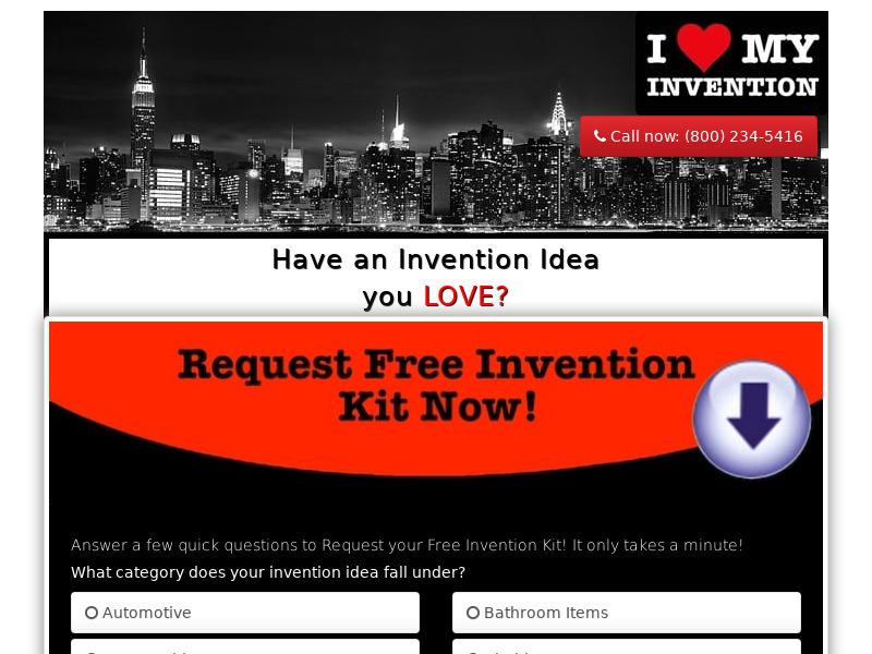 Invention Ideas - CPL - US [EMAIL ONLY]