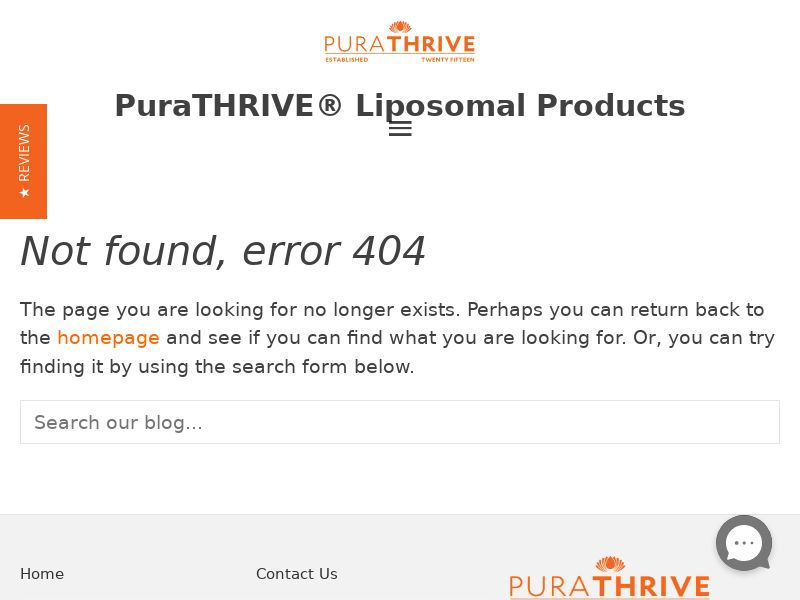 PuraTHRIVE - Liposomal Turmeric - CPA - Straight Sale - INTL