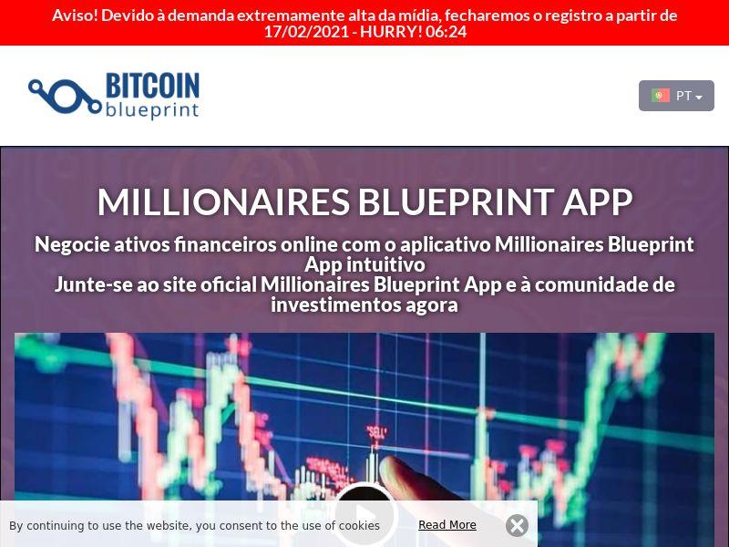 Millionaires Blueprint App Portuguese 3226