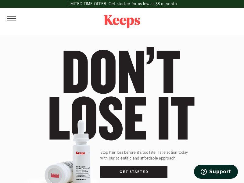 Keeps - Stop Hair Loss - CPL - [US]