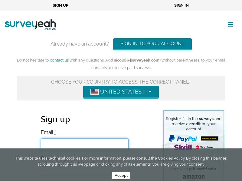 Surveyeah - Earn Money Completing surveys [UK]