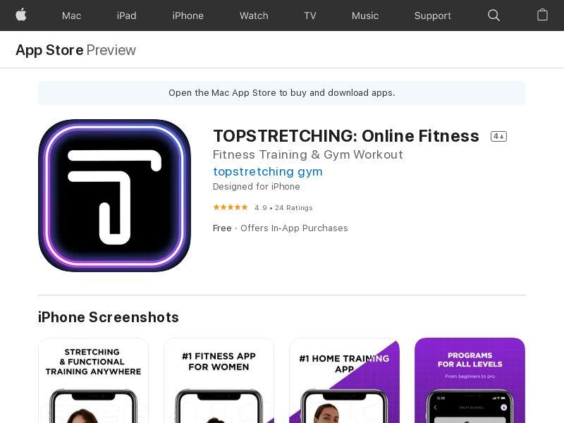 Topstretching [CPA, iOS] WW