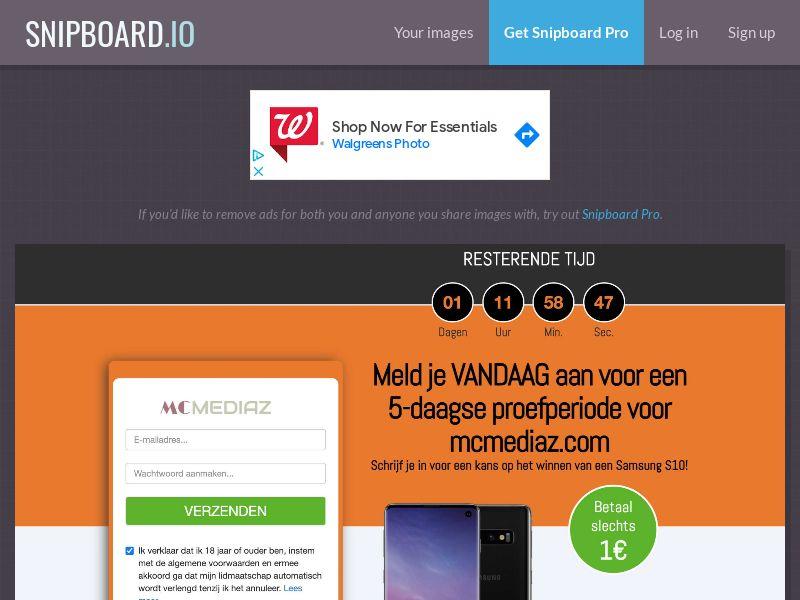CoreSweeps - Samsung Galaxy S10 (Orange) NL - CC Submit