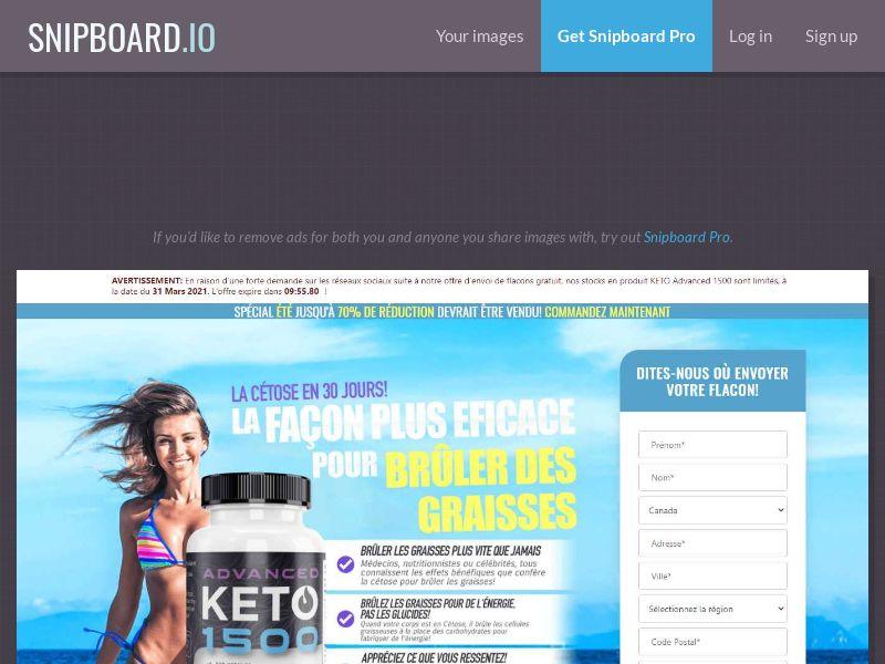 40827 - FR - Keto Advanced 1500 (CPA) (FR)