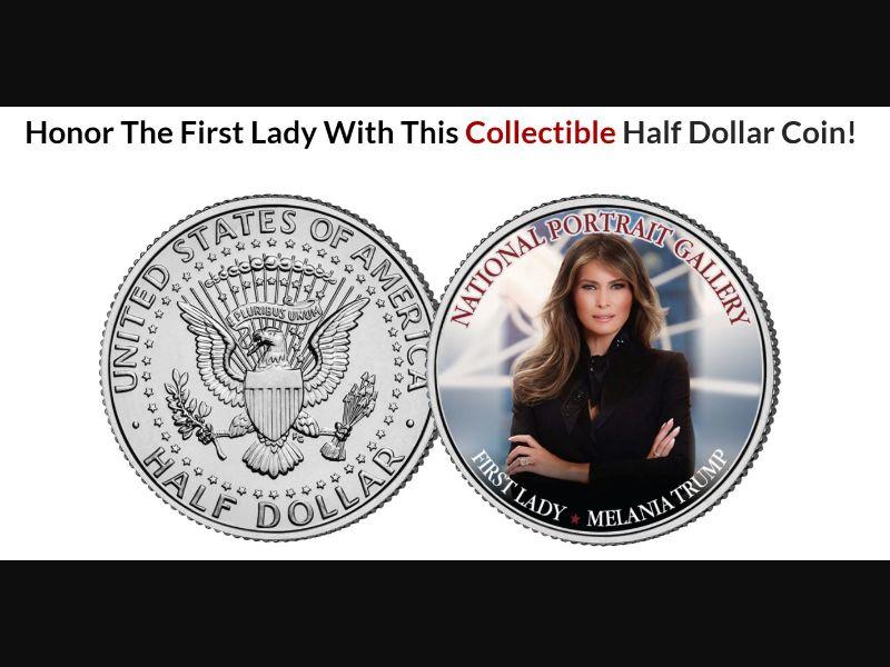 Coin - Melania Trump