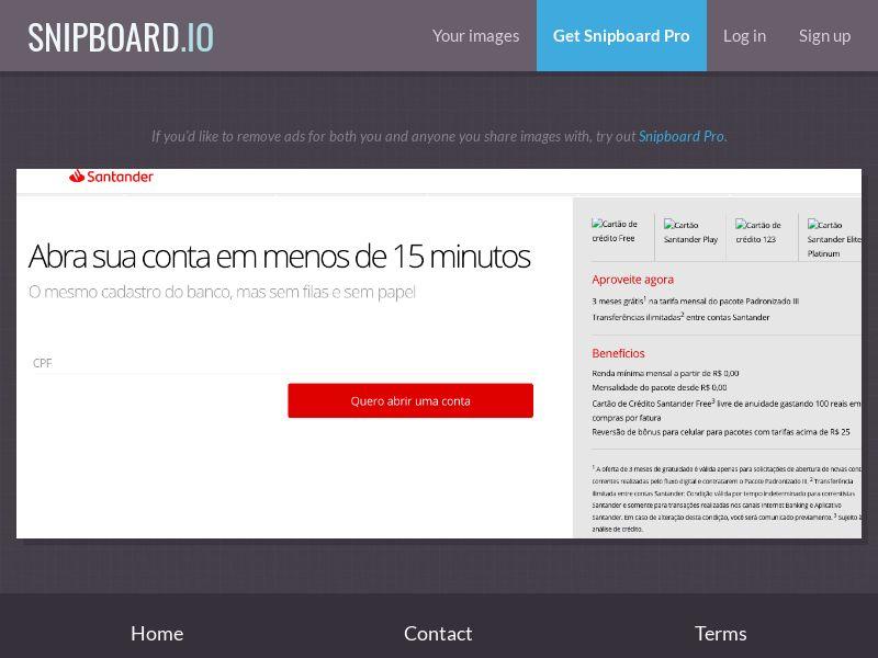 37910 - BR - Banco Santander - Cartões SX - SOI (open cap)