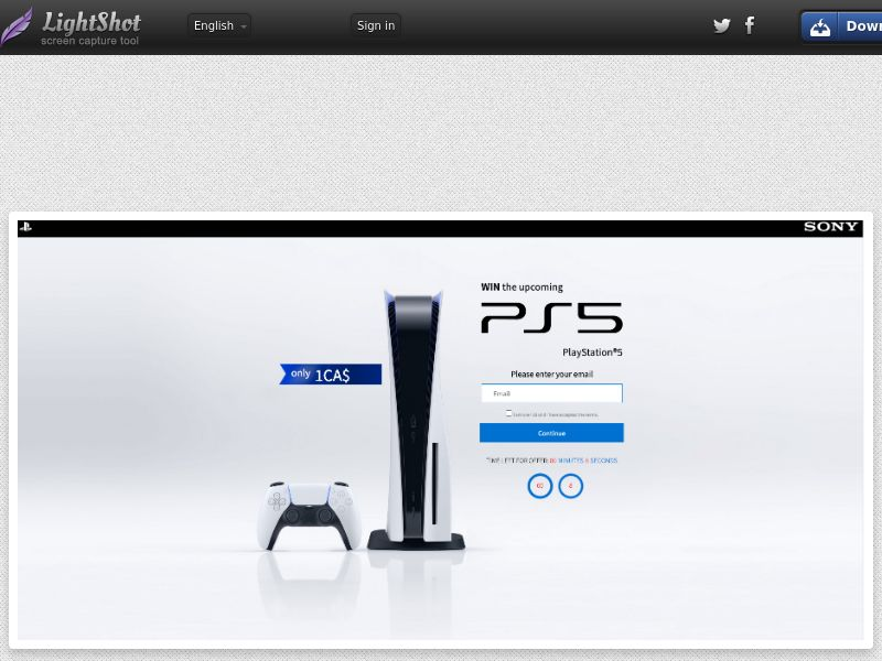 AdCenter Sweepstakes (PS5 & XBOX- Version 2) - CPA, CC Submit, Multi-Geo