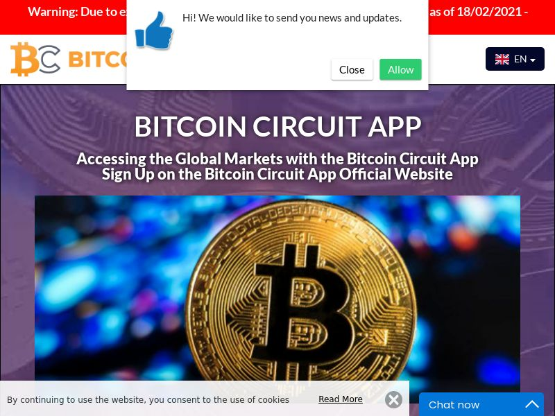 The Bitcoin Circuit Spanish 2333