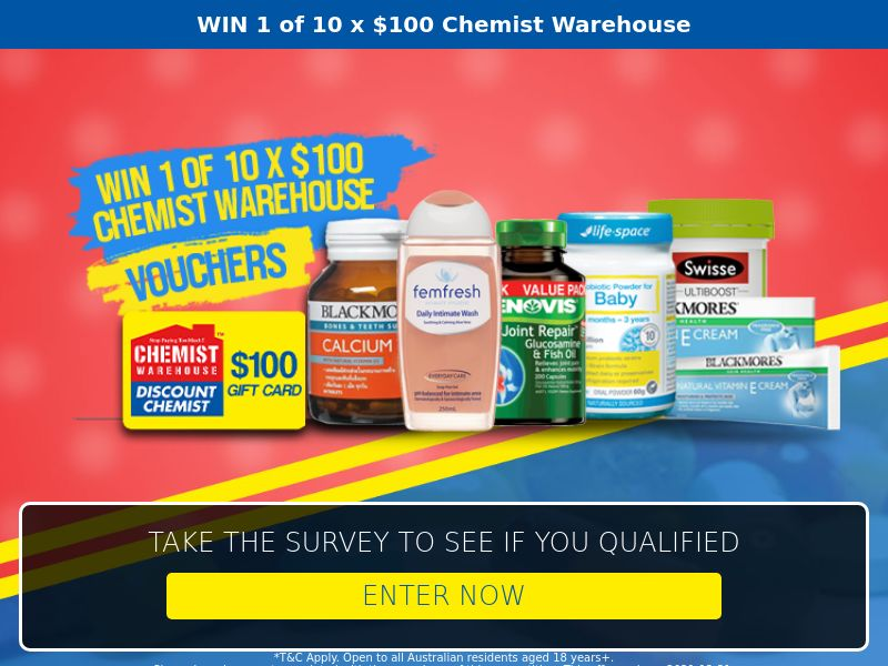 11443) [WEB+WAP] Chemist Warehouse - AU - CPL