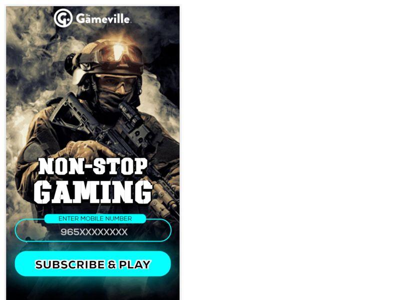 Gameville WIFI