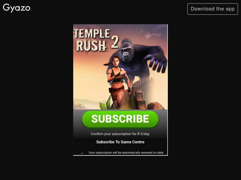Temple Rush 2 - March'19 (ZA)