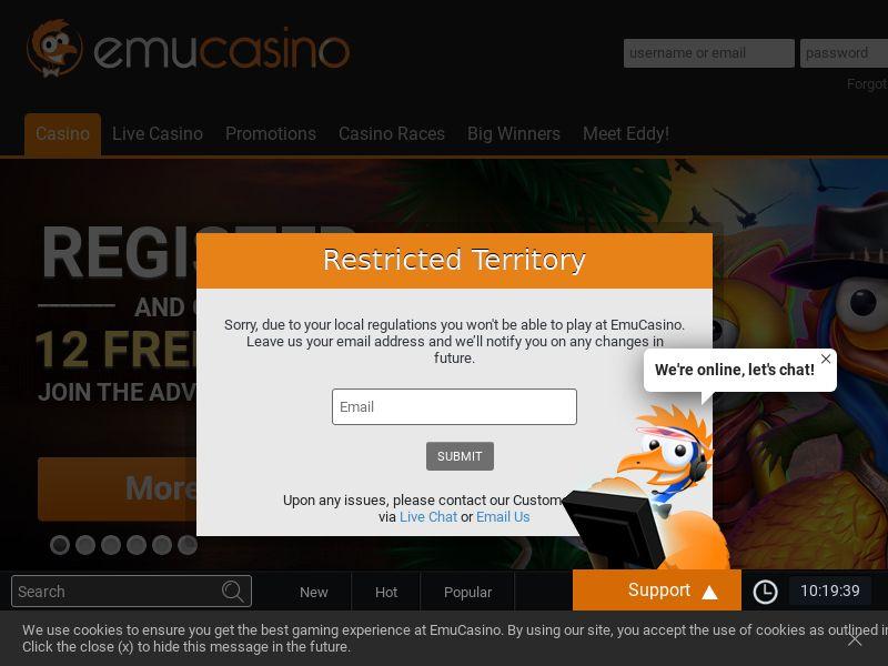 11753) [EMAIL] Emu Casino - NZ,CA - CPL