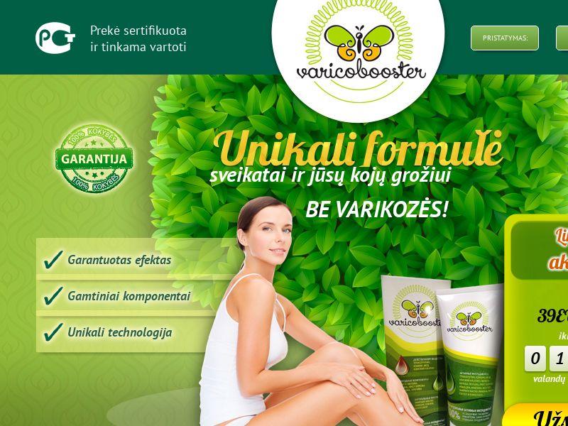 Varicobooster LT — varicose vein cream