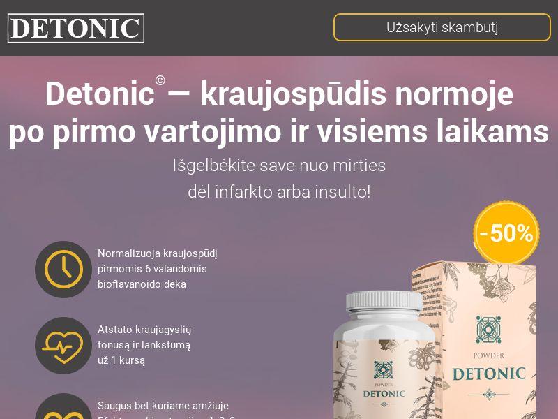 Detonic LT (hypertension)