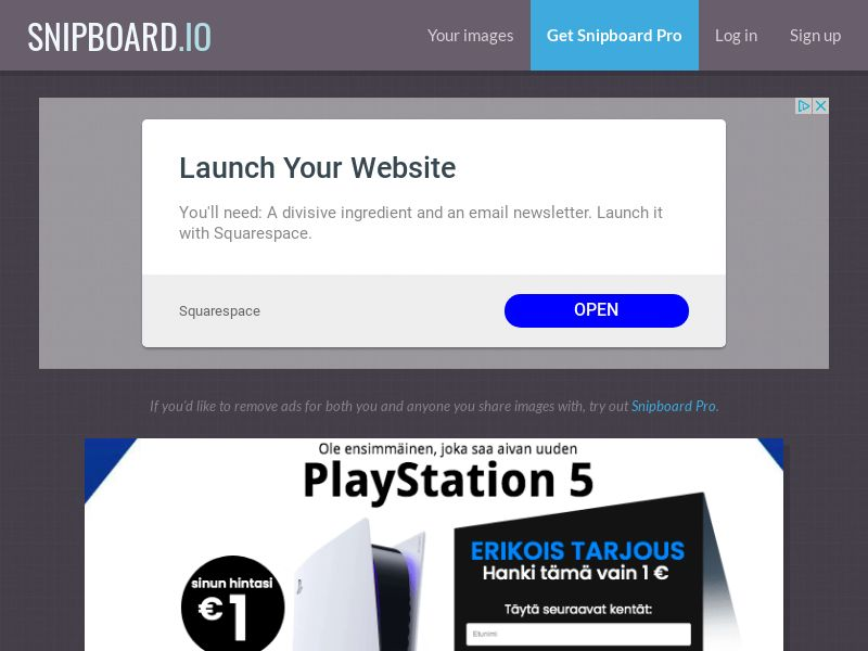 SteadyBusiness - Playstation 5 PS5 (white) LP54 FI - CC Submit