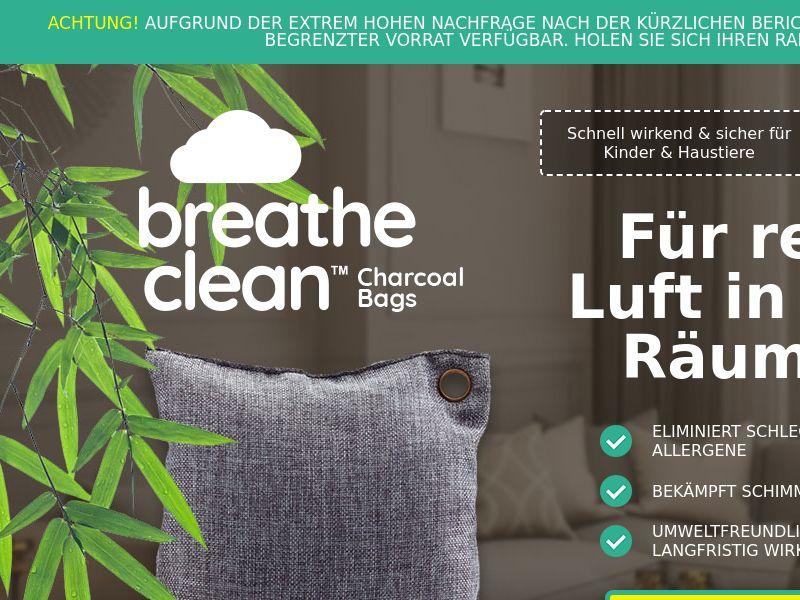 Breathe Clean Charcoal Bags LP01 (GERMAN)