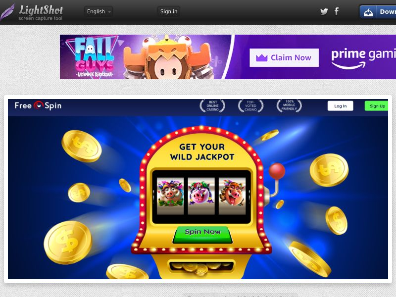 Free Spin Casino (UK, US, CA, AU, NZ, FR) (CPS) (Personal Approval)
