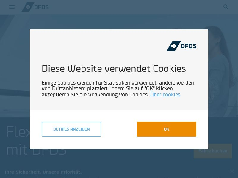 DFDS - DE (DE), [CPS], Transport and Travel, Tours, Transport, Sell, holiday
