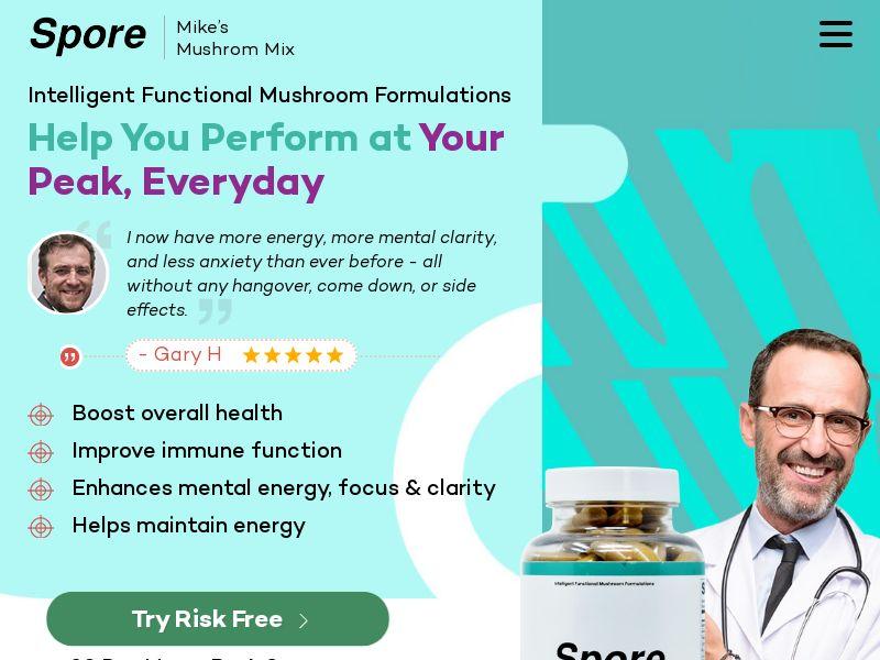 Spore - Focus Performance (Trial) (US)