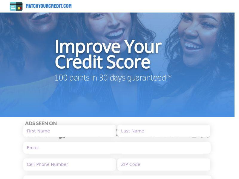 12724) [WEB+WAP] Improve Your Credit Score - US - CPL