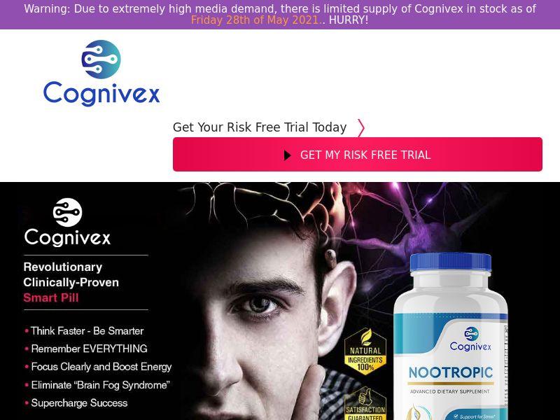 Cognivex Nootropic (Trial) (US) (Survey Allowed)