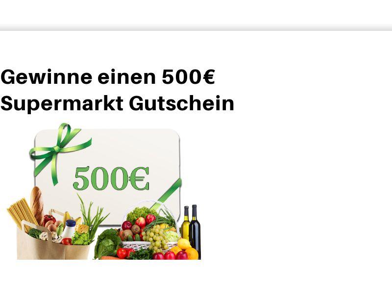 Supermarkt 500€ SOI DE