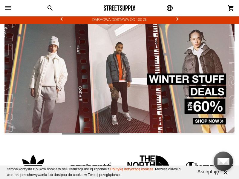 StreetSupply - PL (PL), [CPS], Fashion, Clothes, Shoes, Accessories and additions, Accessories, Jewelry, Presents, Sell, shop, gift