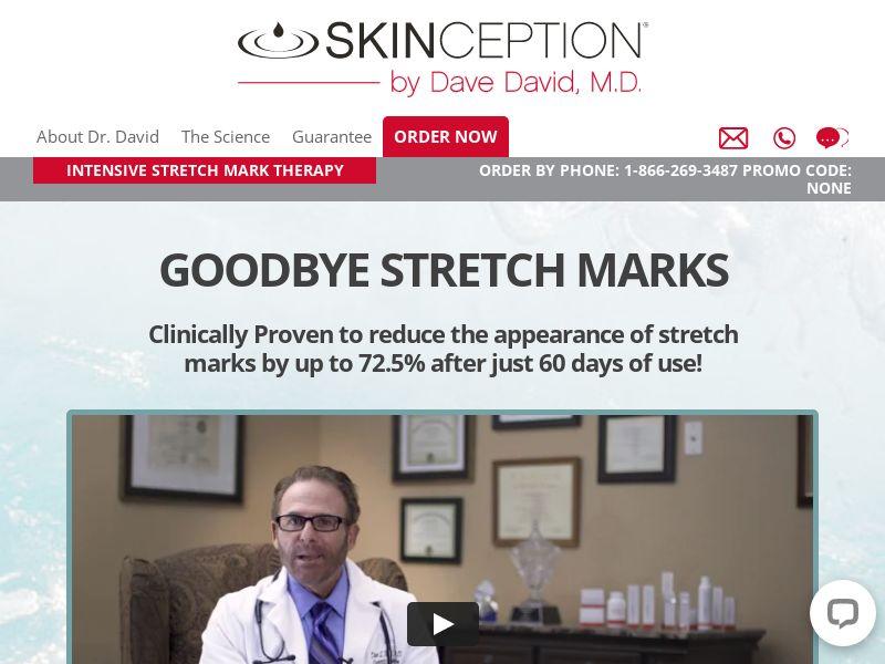 Skinception Stretchmark Therapy Cream