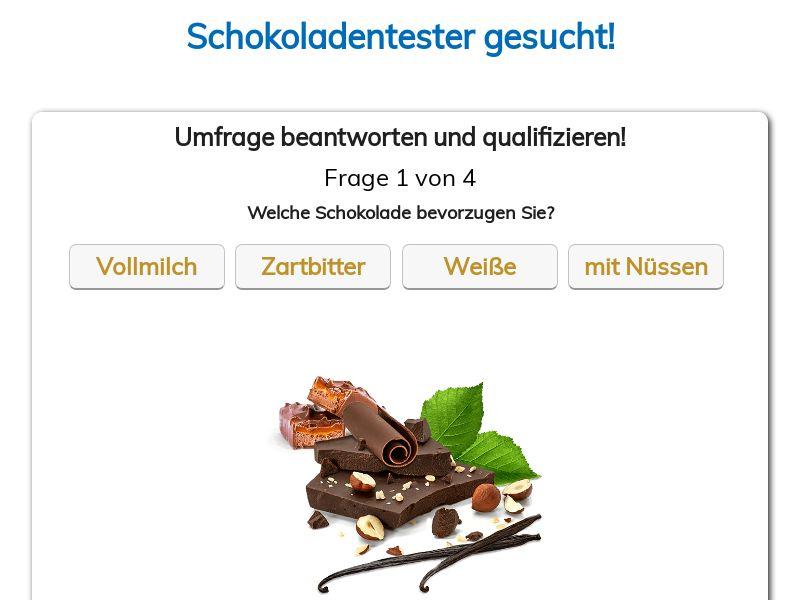 9801) [WEB+WAP] Chocolate Product Tester - DE - CPL