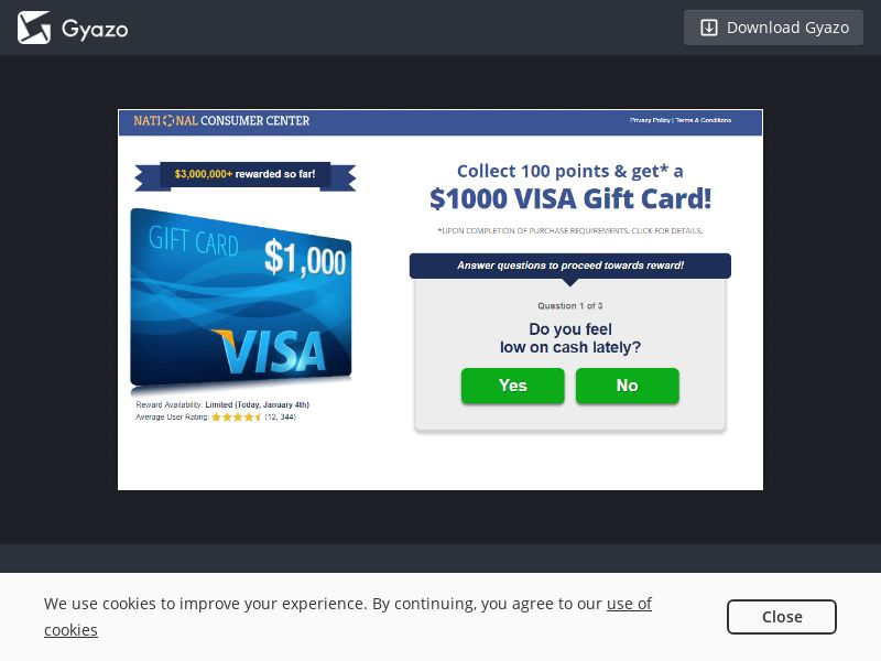 S&P - Amazon $1000 Gift Card US | CPL