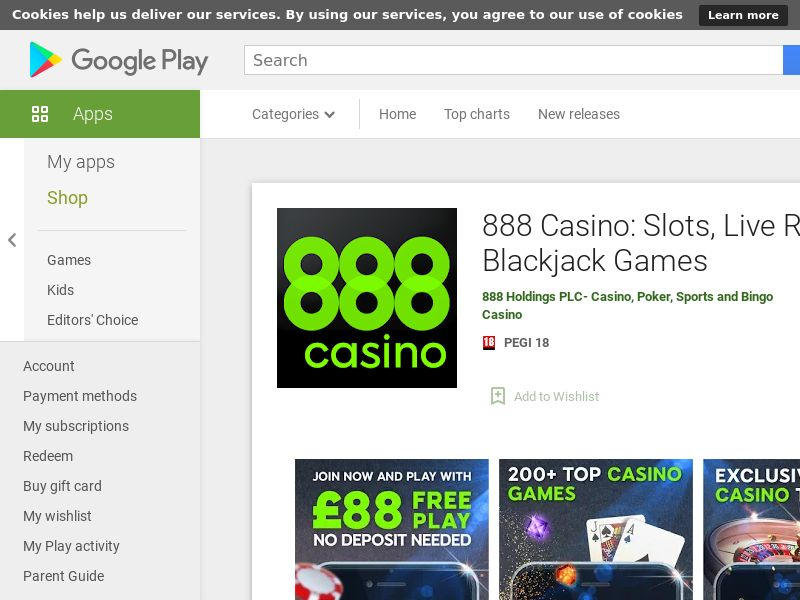 Casino Android UK_FTD