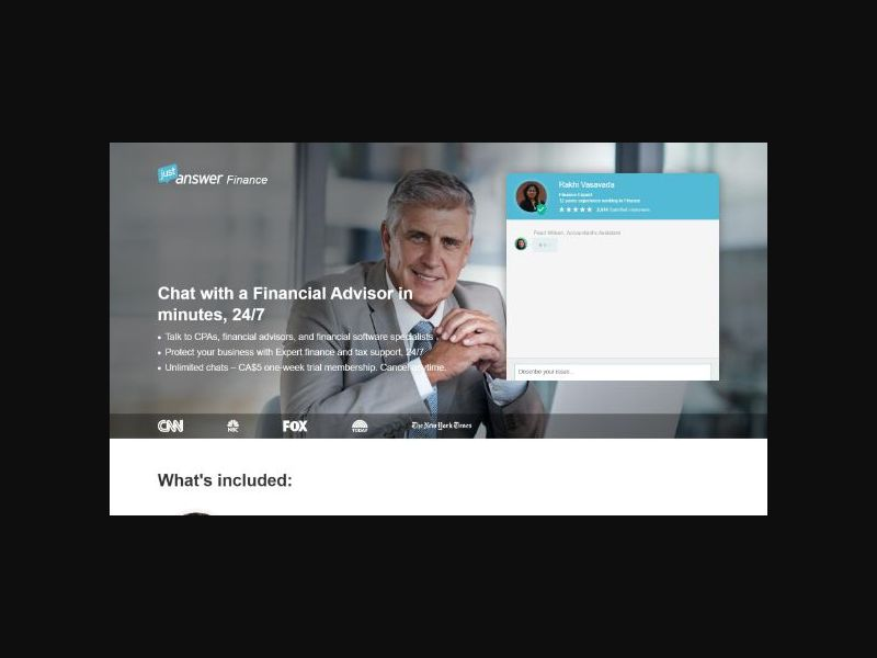 JustAnswer Experts - Finance (US)