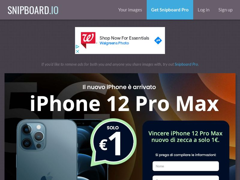 SteadyBusiness - iPhone 12 Pro Max LP64 IT - CC Submit