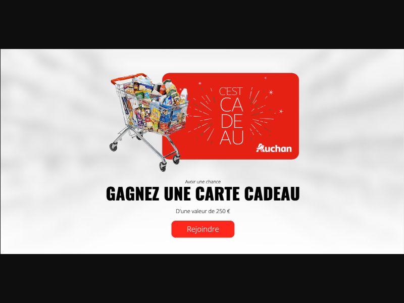 Auchan - CPL SOI - FR - Sweepstakes - Responsive
