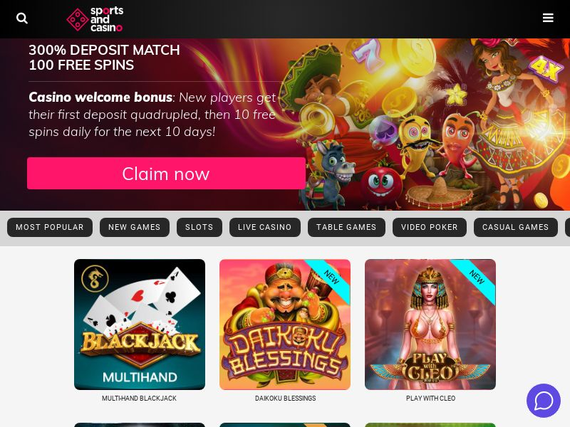 Sport and casino CPA 3 countries