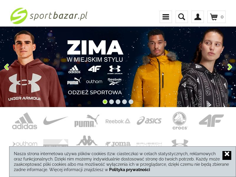 SportBazar (PL), [CPS], Fashion, Clothes, Shoes, Accessories and additions, Accessories, Sport & Hobby, Sell, shop, gift