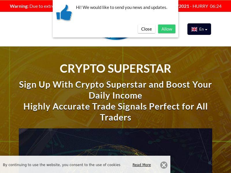 Crypto Superstar English 2084